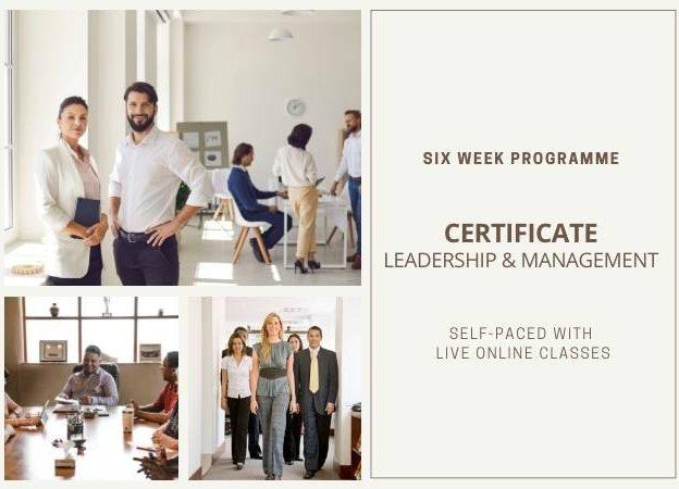 Certificate <br>Leadership & Management course image