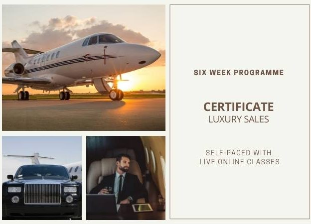 Certificate <br>Luxury Sales course image