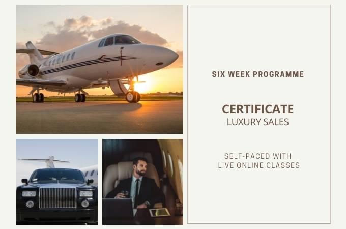 Certificate Luxury Sales