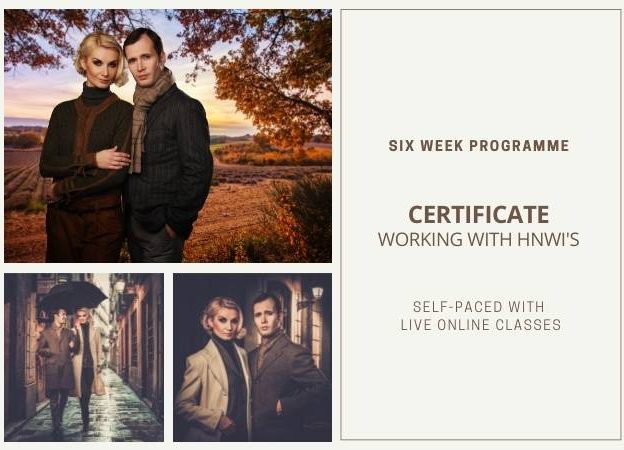 Certificate <br>Working with HNWI's course image