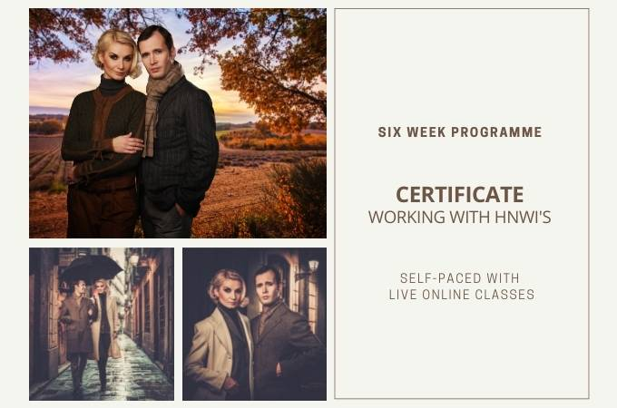 Certificate Working with HNWI's