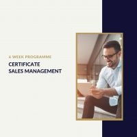 Certificate Sales Management for Sales Managers