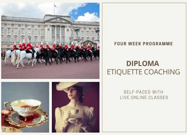 Diploma <br>Etiquette Coaching course image