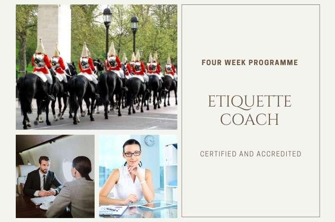 Etiquette Coach <br>4 Week Programme course image