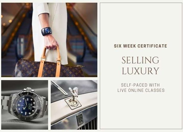 Selling Luxury Certificate course image
