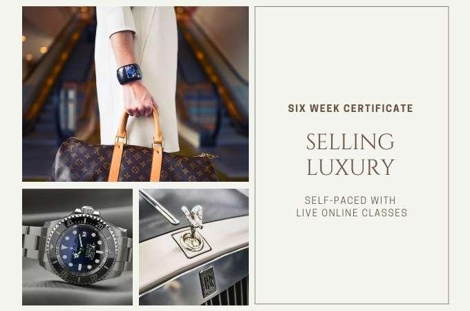 Selling Luxury Certificate