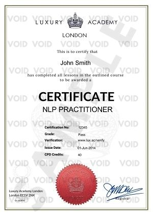 NLP Pratictioner